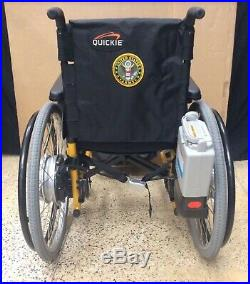 Quickie 2 Battery Powered/Manual Wheelchair
