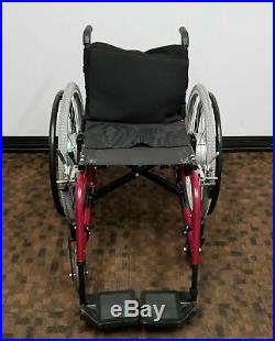 Quickie 2HP Wheelchair with Xtender Electric Power Assist with Battery & Charger