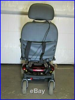 Quickie Model S-11 Electric Motorized Handicap Wheelchair New Batteries