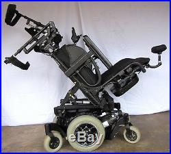 Quickie Pulse 6 Power Tilt and Power Leg Wheelchair With Brand New Batteries