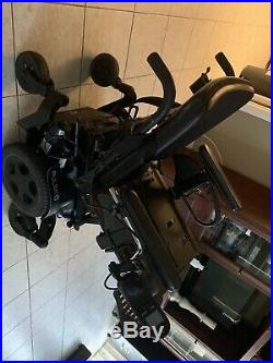 Quickie Pulse 6 Power Wheel Chair With 22NF 12 Volt Gel Battery