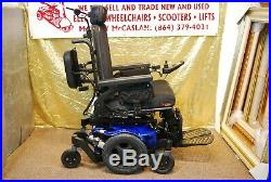 Quickie Pulse 6 Power Wheelchair Scooter with Tilt & Power Legs NEW BATTERIES