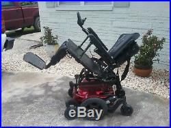 Quickie Pulse 6 Wheelchair, Power Tilt, Recline And Legs. New Batteries. Charger