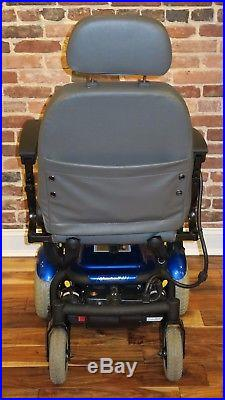 Quickie S-11 Portable Full-size Power Chair With Brand New Batteries Super Fast