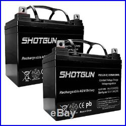 RG12350 12V 35Ah Jazzy Select GT Power Chair Scooter Battery 2 Pack
