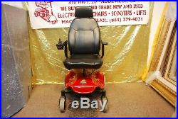 Shoprider Streamer Electric Power Wheelchair Scooter with New Batteries