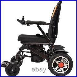 Smart Electric Wheelchair Folding Lightweight Power Aid Motorized Two Battery