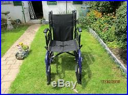 T. G. A. Electric wheel chair with motor & battery COLLECT ONLY