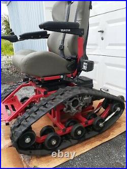 Tracfab 36 All Terrain Rubber Tracked Electric Wheelchair