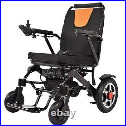 Two Battery Electric Wheelchair Portable Lightweight Power Aid Motorized FDA