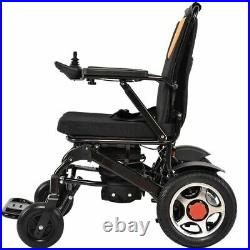 Two Battery Electric Wheelchair Portable Travel Lightweight Power Aid Motorized