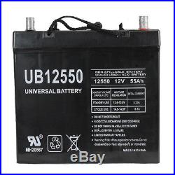 UPG 12V 55AH Replacement Battery for Quantum QG Edge 2.0 Power Chair NF55