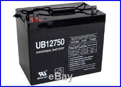 UPG 12V 75Ah Group 24 Battery for Scooter Wheelchair Golf Cart Electric DC