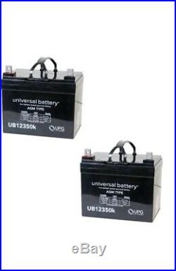 UPG 2 Pack 12 Volt 35 Amp Hour Battery Electric Wheelchair Scooter U1 ub12350