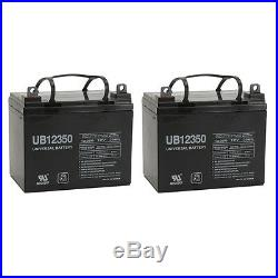 UPG 2 Pack 12V 35AH Battery for Cirrus Plus HD Power Wheelchair