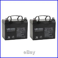 UPG 2 Pack 12V 35AH Battery for Pride Boxster Celebrity 2000 X Power Chair Sco