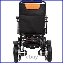 US Electric Wheelchair Folding Lightweight Power Aid Motorized with Two Battery