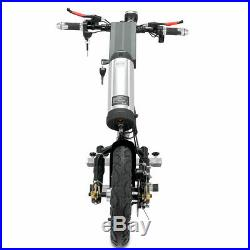 USA 36V/350W 10AH Attachable Electric Handcycle Scooter for Wheelchair