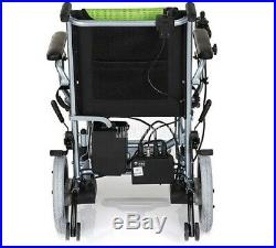 Ultralight Folding Electric Wheelchair with Polymer Li-ion Battery 190W2 Power