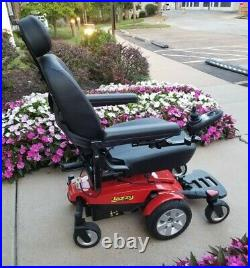Wheelchair Jazzy Select 6 Pride Electric/Battery, Excellent Condition, withManual