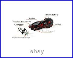 Wheelchair Push Smart Power Assist Quick connect Manual to Electric Drive NEW