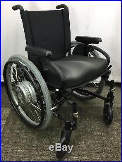 XTENDER power-assist wheelchair, Quickie-2 NO legrests, Batteries or Charger