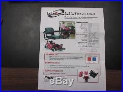 Z-Chair electric wheelchair with NEW Batteries works great