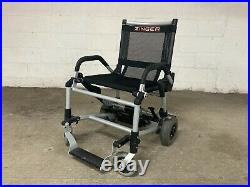 Zinger Folding Mobility Chair Black Used, Good Condition Batteries & Charger